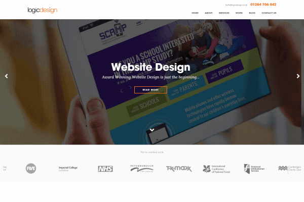 Award Winning Website Design Suffolk