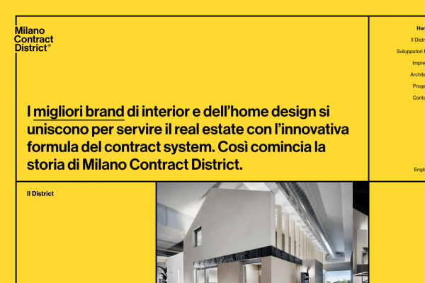 Milano Contract District